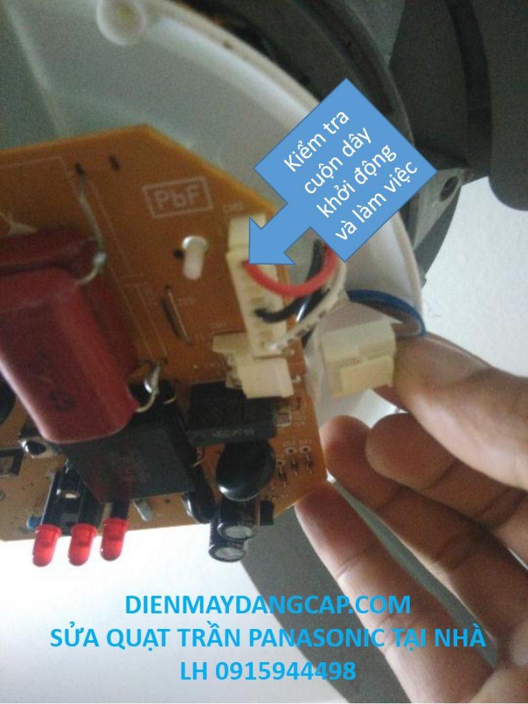 sửa quạt trần panasonic, sửa chữa quạt trần panasonic tại hà nội