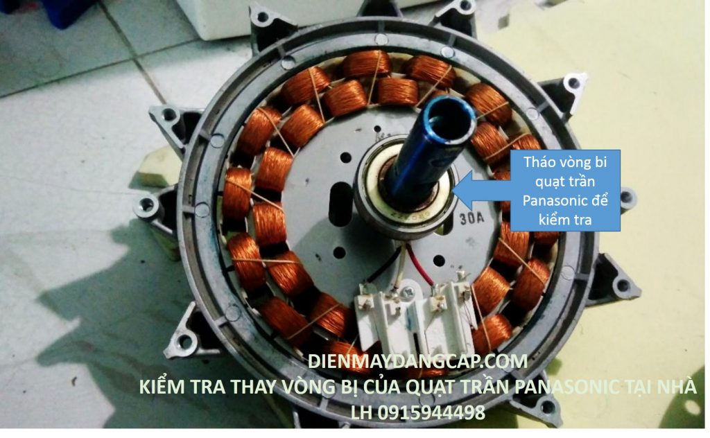 sửa quạt trần Panasonic, sửa chữa quạt trần Panasonic tại nhà
