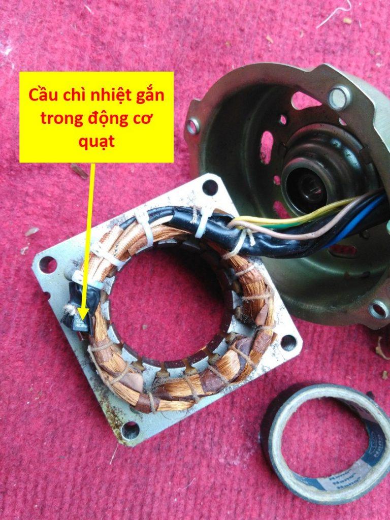 cách sửa quạt điện không quay