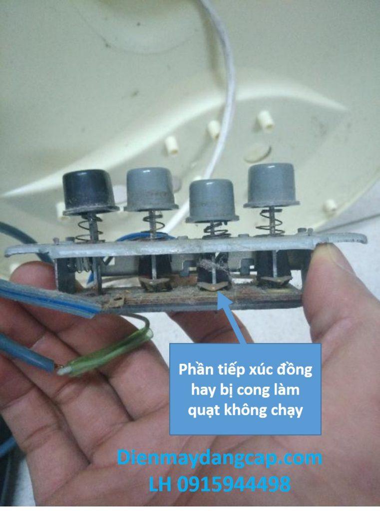 cách sửa quạt điện