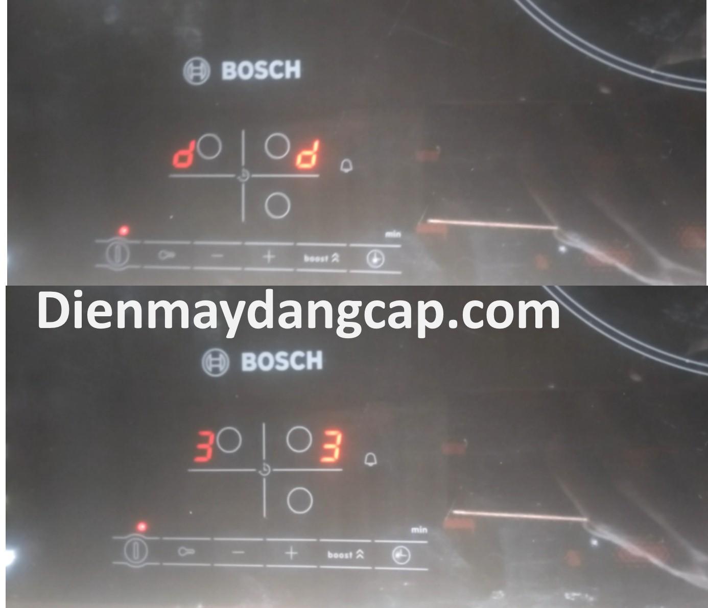 Bosch error D3