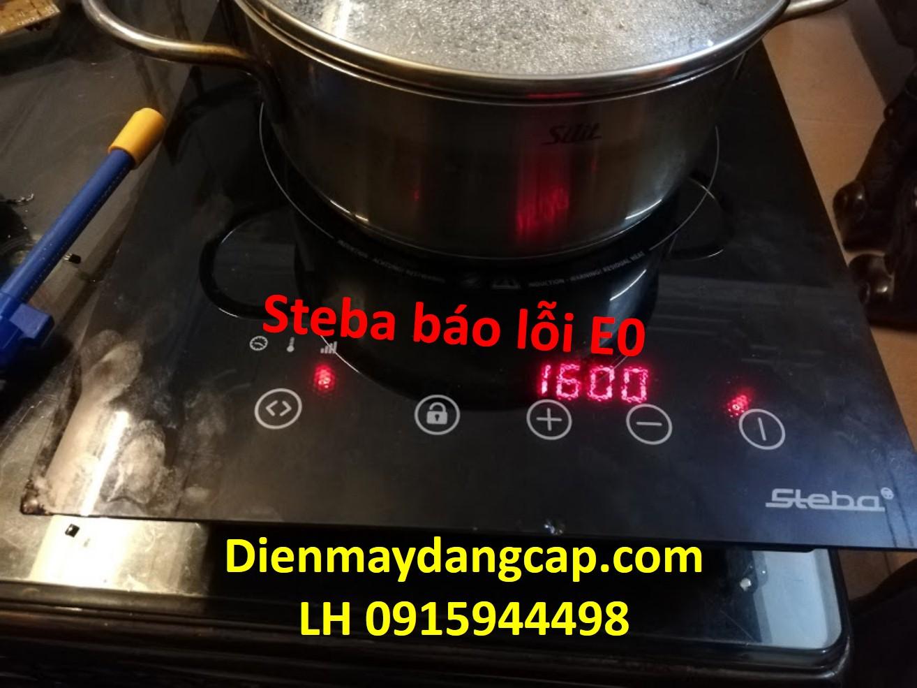 Sửa bếp từ Steba báo lỗi E0