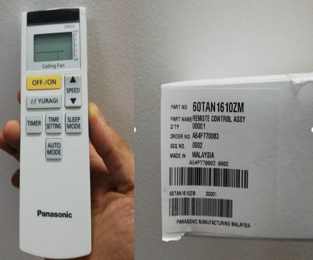 Điều khiển quạt trần Panasonic F60-TAN 3