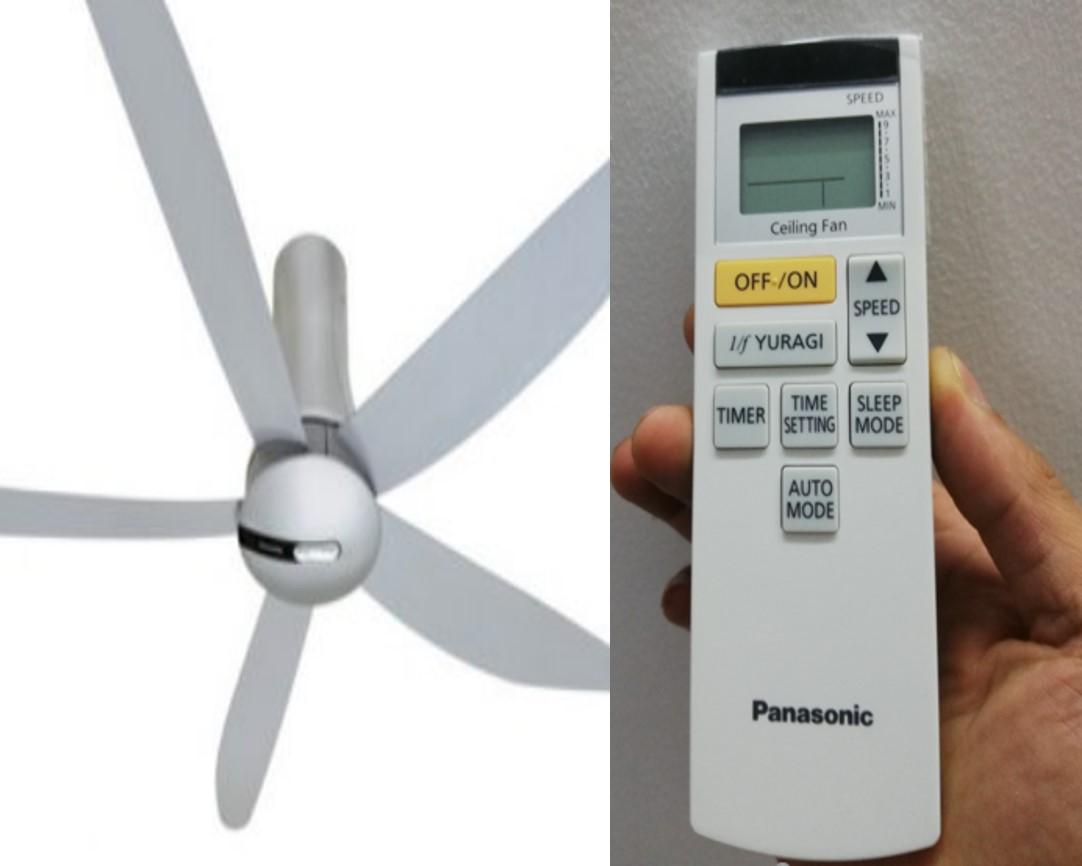 Điều khiển quạt trần Panasonic F60-TAN 4