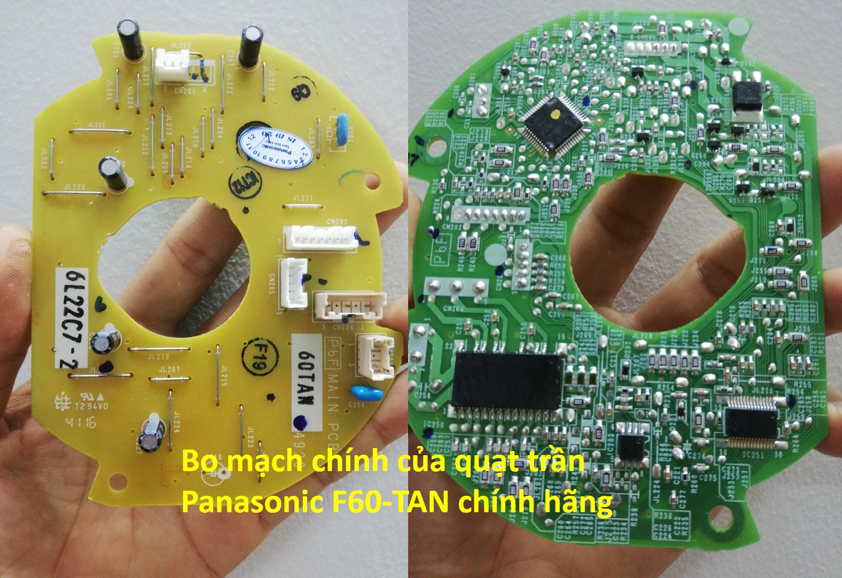 Mạch điều khiển quạt trần Panasonic F60-TAN chính hãng 1