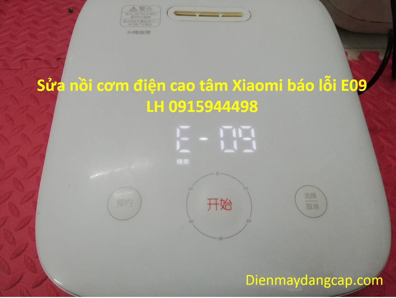 Sửa nồi cơm điện Xiaomi báo lỗi e09